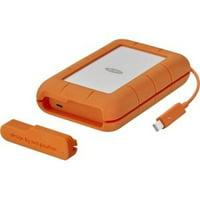 LaCie 5TB Rugged Mobile Hard Drive (Thunderbolt & USB 3.0 Type-C)