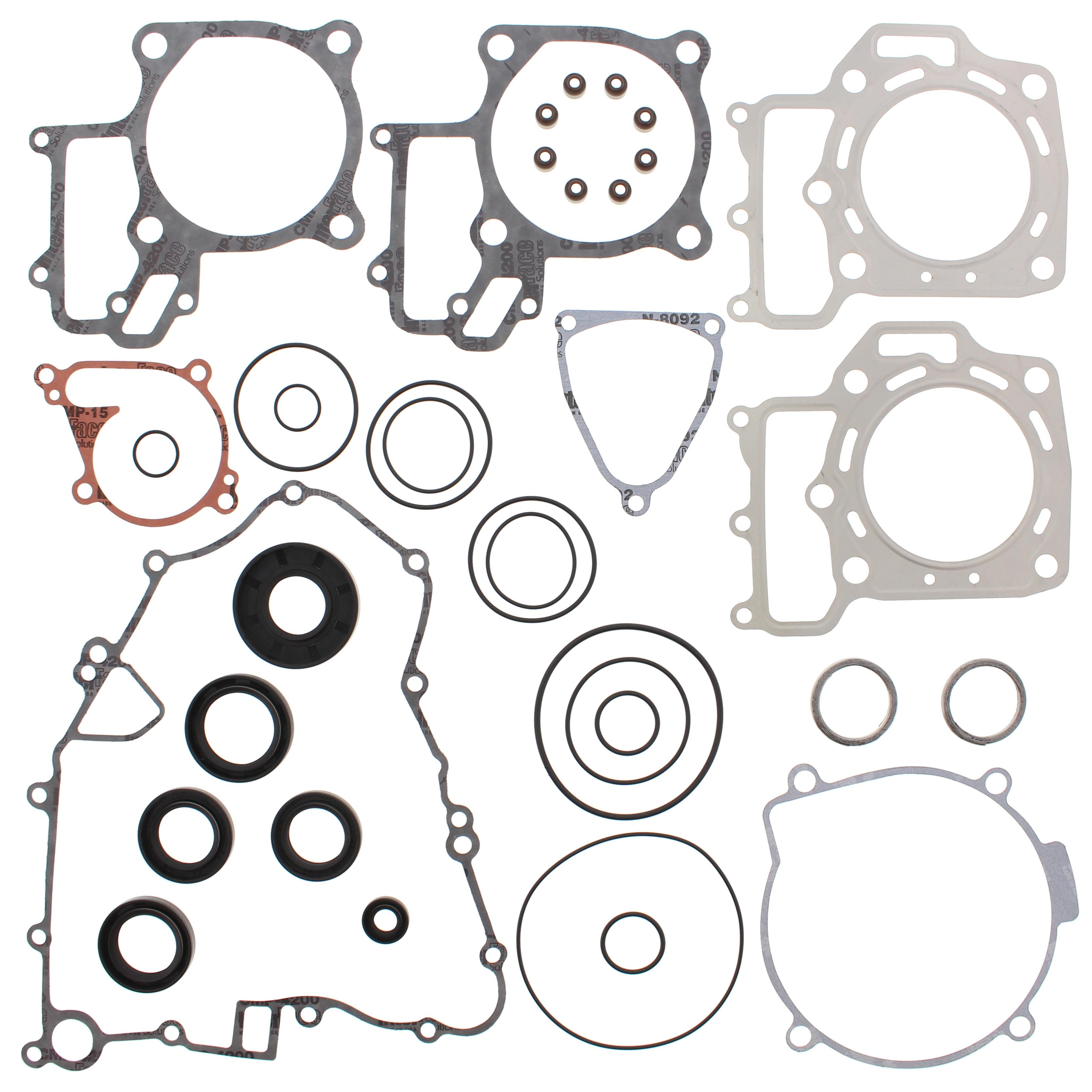 New Complete Gasket Kit w/ Oil Seals Kawasaki KVF650 Brute