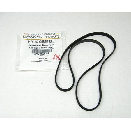 Whirlpool Dryer Belt WPW10260319 AP6018084 PS11751386