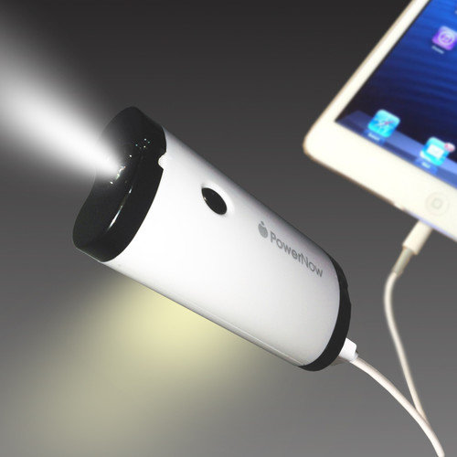 Datexx PowerNow Grande Rechargeable Power Bank with Flashlight & Lantern