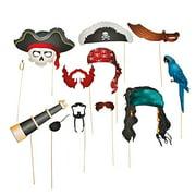 Pirate Stick Props - Party Favors - 12 Pieces