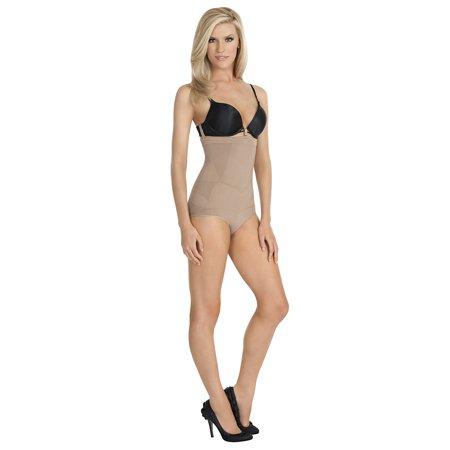 cd64a2693a28 Julie France - Women's Firm Control High Waist Panty Shaper NEW -  Walmart.com