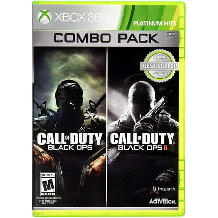 Call of Duty Black Ops 1 & 2 Combo Pack (X360) (Cod Black Ops 2 Revolution Map Pack)