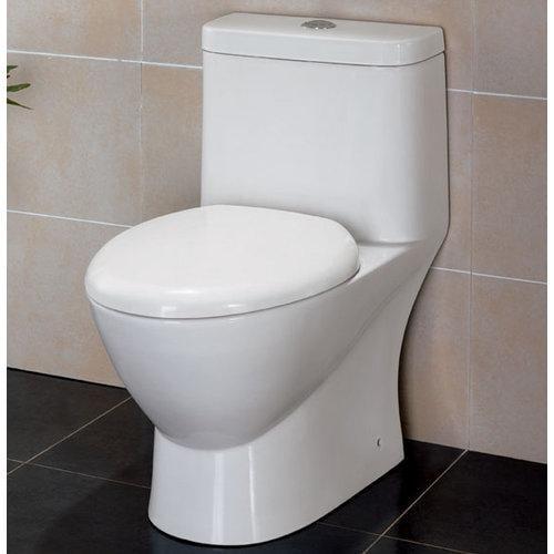 Eago  TB346  Toilet  Fixture  One-Piece Elongated  ;White