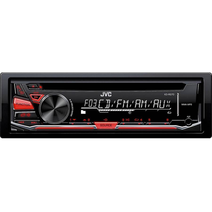 JVC KD-R370 AM/FM CD Receiver