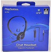 Onn ONA14MG013 Chat Headset for Playstation 4 - Over-the-Head - (Refurbished)