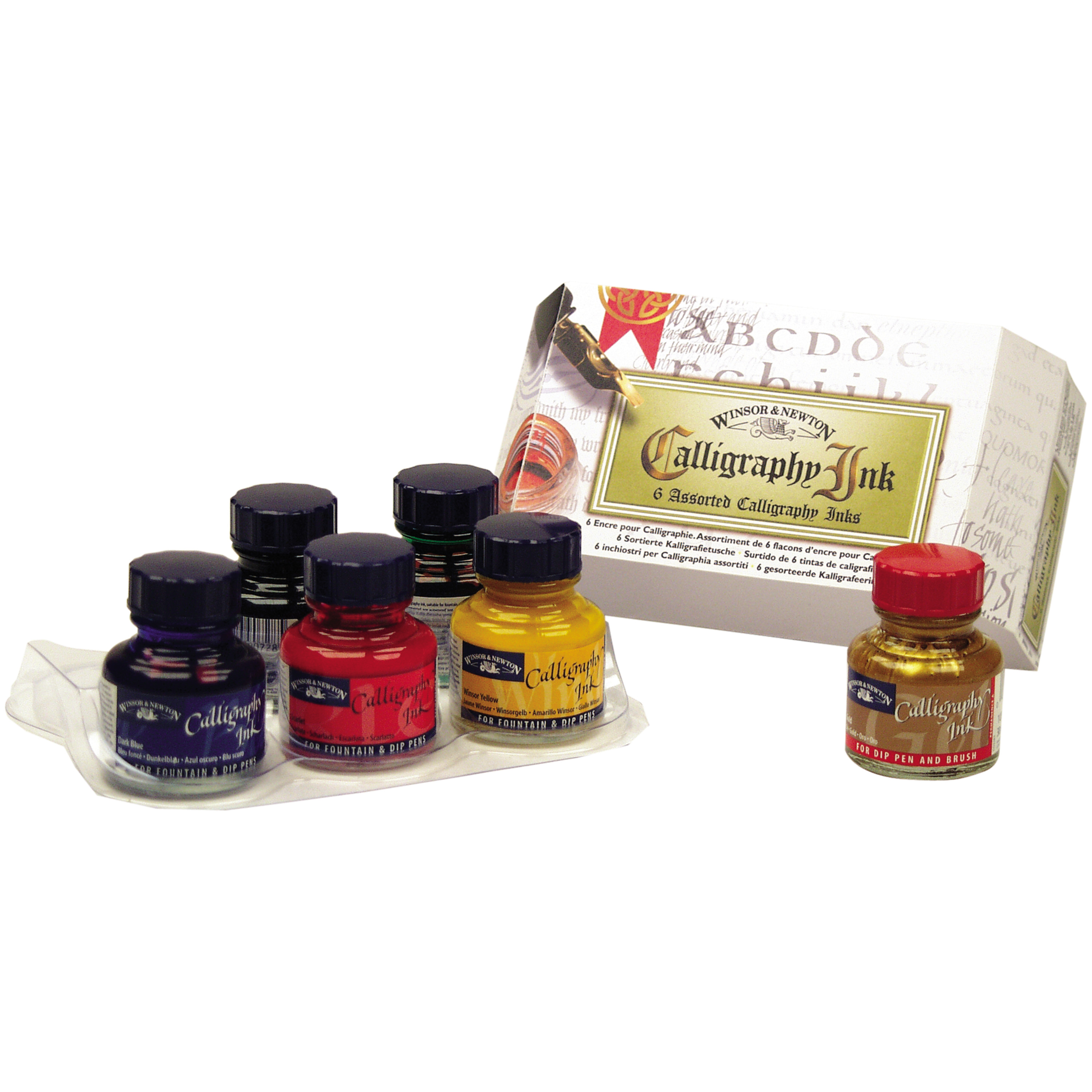 Winsor & Newton Calligraphy Ink, Introductory Set