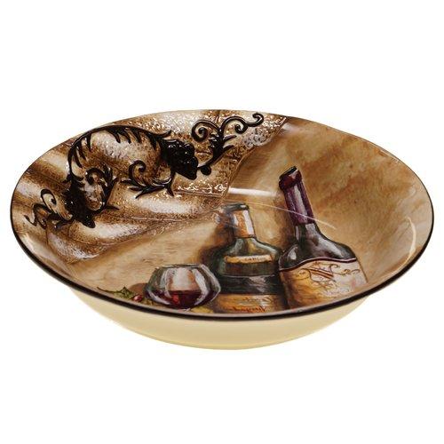 Fleur De Lis Living Janet Serving Pasta Bowl by