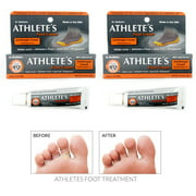2 Pc Athletes Foot Cream Cure Skin Antifungal Fast Relief Ringworm Cures Itching