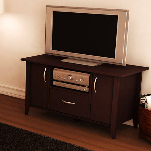 """South Shore Smart Basics Chocolate TV Stand, for TVs up to 50"""""""