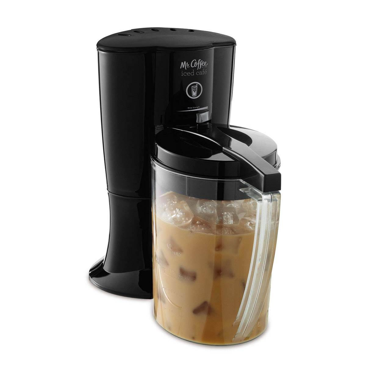 Mr. Coffee BVMC-LV1 Iced Cafe Iced Coffee Maker, Black ...