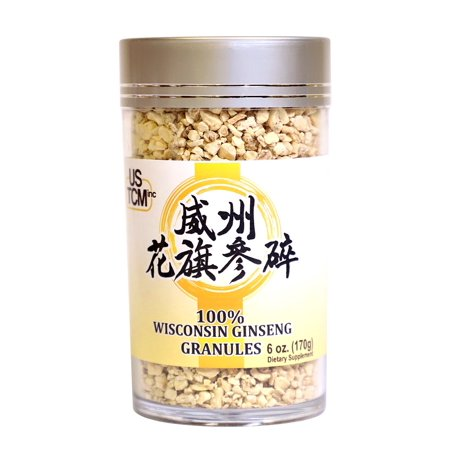 Wisconsin American Ginseng Granules Perfect for Making Teas Wisconsin American Ginseng