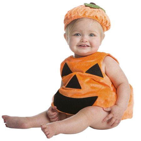 Halloween Infant Pumpkin Bubble Halloween Costume - Infant Pumpkin Costumes