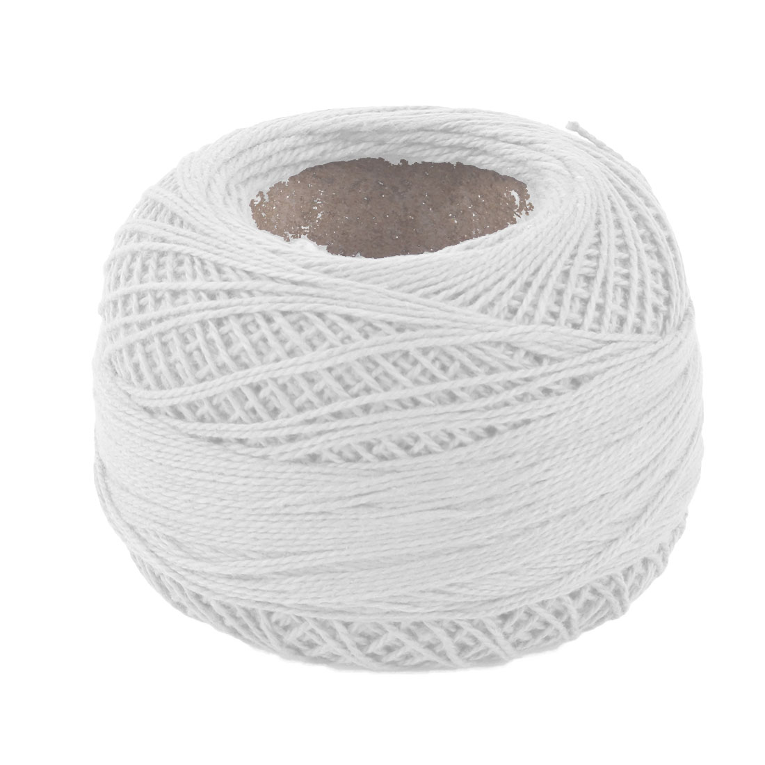 Household Cotton Blends Crochet Clothes Weaving Knitting Yarn Cord Off White 60g - image 1 of 1