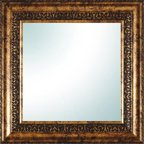 "PTM Images 14"" x 14"" Gold Ornate Square Mirror"
