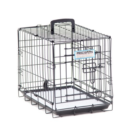 Precision ProValu Great Crate Single Door Dog Crate with FREE Pad