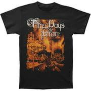 Three Days Grace Men's  Welcome To Las Venus 2013 Tour T-shirt Black