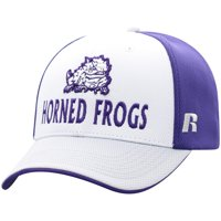 Men's Russell White/Gray TCU Horned Frogs Novice Adjustable Snapback Hat