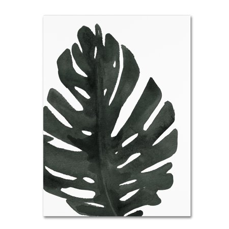Trademark Fine Art 'Tropical Palm I BW' Canvas Art by Wild Apple Portfolio