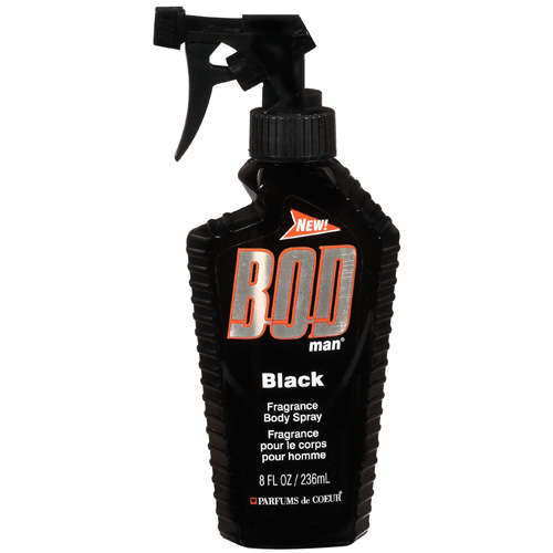BOD Man Black Body Spray, 8 fl oz