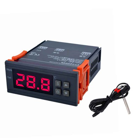 MH1210W AC90V 250V Digital Temperature Controller 50 110 Celsius Degree Thermocouple Thermostat Refrigeration
