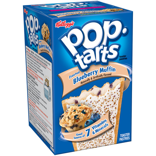 Kellogg's Frosted Blueberry Muffin Pop-Tarts, 8ct