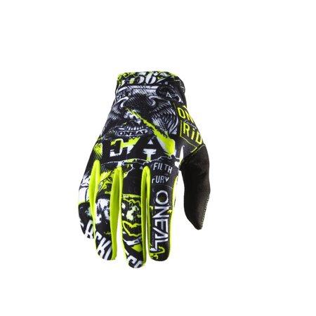 Oneal 2019 Matrix Attack Gloves - Black/Hi-Viz