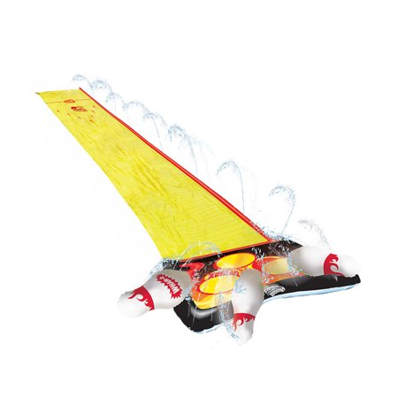 Wham-O 64703 Splash 'N Bowl Outdoor Slip 'N Slide Sports with 6 Inflatable