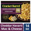 (3 Pack) Cracker Barrel Cheddar Havarti Macaroni & Cheese, 14 oz (Best Thing At Cracker Barrel)