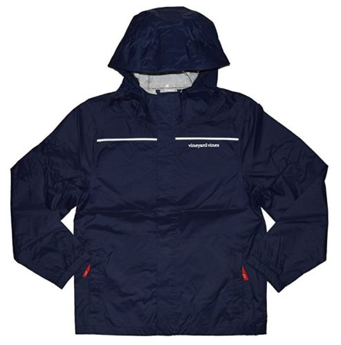 Vineyard Vines Kids Boys Beacon Full Zip Jacket  Nautical Navy XL $98.00