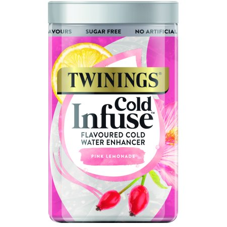 Twinings Cold Infuse Pink Lemonade, Tea Bags, 12 Ct
