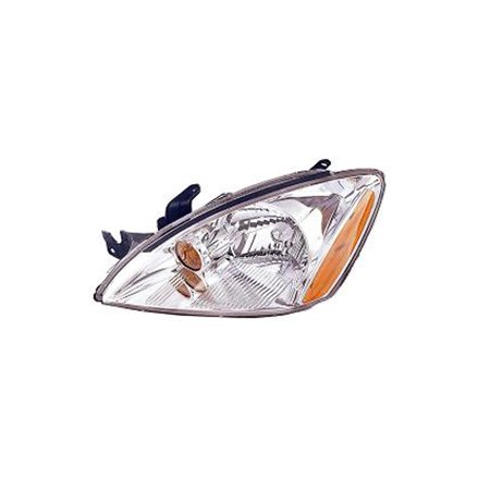 Replacement Driver Side Headlight For 04-07 Mitsubishi Lancer MN161937 MI2502136