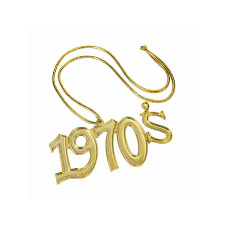 Disco Fever - 1970'S Necklace](1970s Accessories)