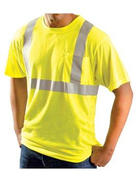 Rugged Blue Class 2 High-Vis Wicking Shirt Hi-Viz Yellow XL