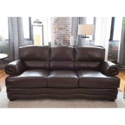 Elements Charleston Top Grain Leather Sofa