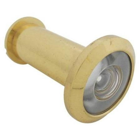 Polished Brass Door Viewer