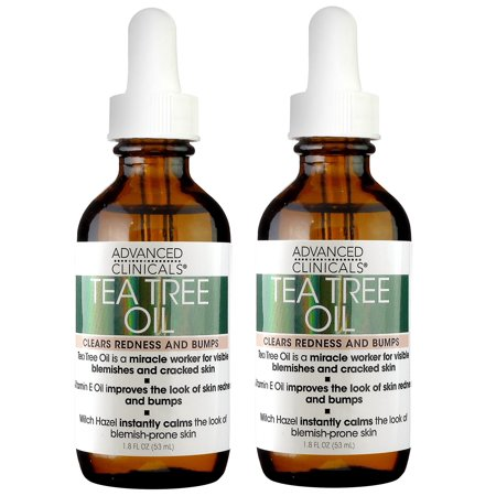 Advanced Aromatherapy - Advanced Clinicals Tea Tree Oil for Redness and Bumps. (Two - 1.8oz)
