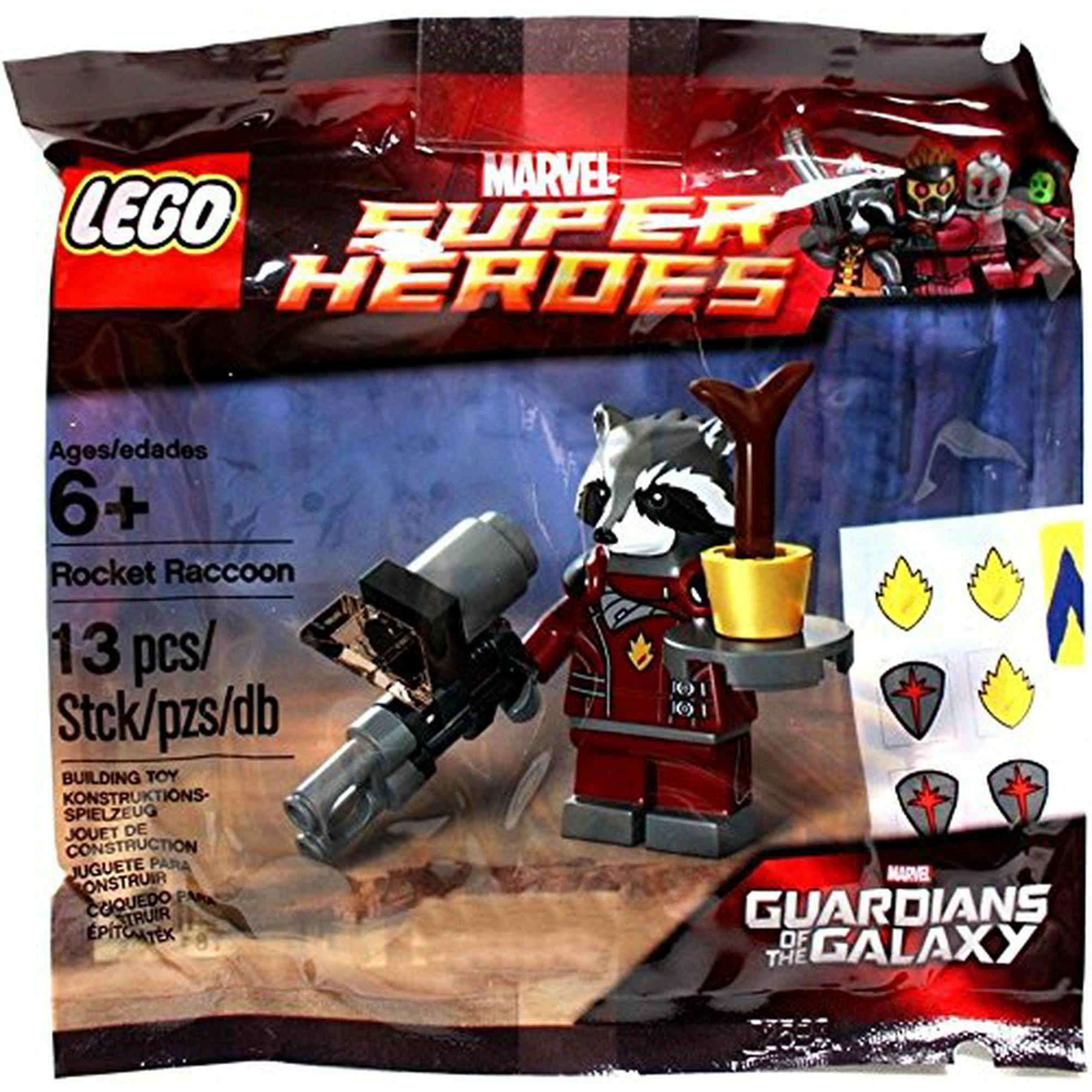 Lego Guardians of the Galaxy ROCKET RACCOON Minifigure sh122 FAST SHIPPING!