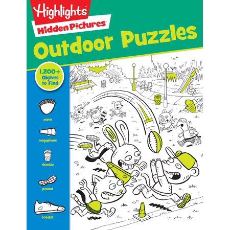 Outdoor Puzzles (Cheap Children Books)