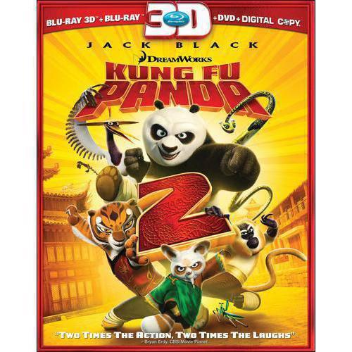 Kung Fu Panda 2 (3D Blu-ray + DVD) (Widescreen)