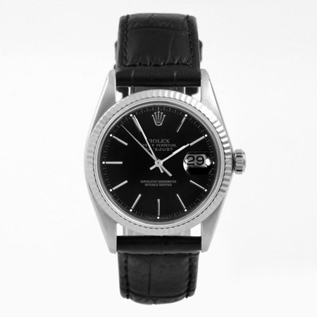 Pre-Owned Rolex Datejust 16014 Steel 36mm  Watch (Certified Authentic & Warranty) (Rolex Pre Owned Watches)