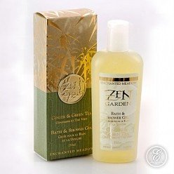 Enchanted Meadow Zen Bath & Shower Gel 8 oz. - Ginger & Green - Enchanted Meadow Zen Bath