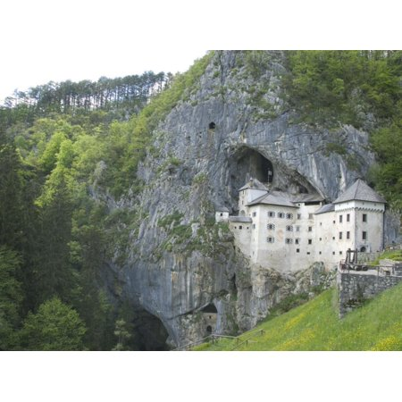 Predjama Castle, Built in Mouth of Cave, Near Postojna, Slovenia, Europe Print Wall Art By Waltham Tony ()