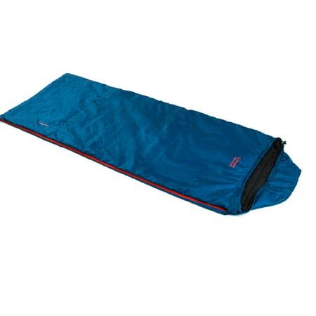 Snugpak Travelpak Traveler - Petrol Blue - RH Zip Snug Pack Sleeper