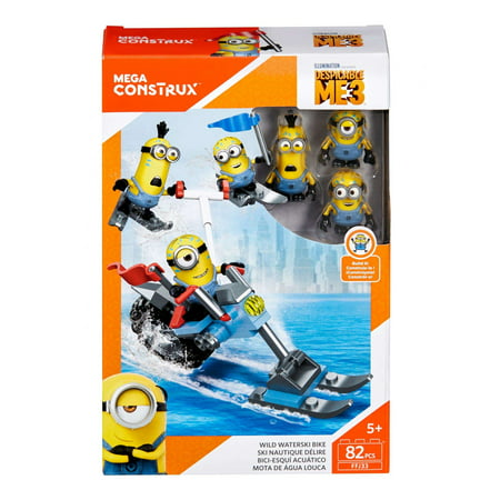 Mega Construx Despicable Me 3 - Wild Waterski Bike