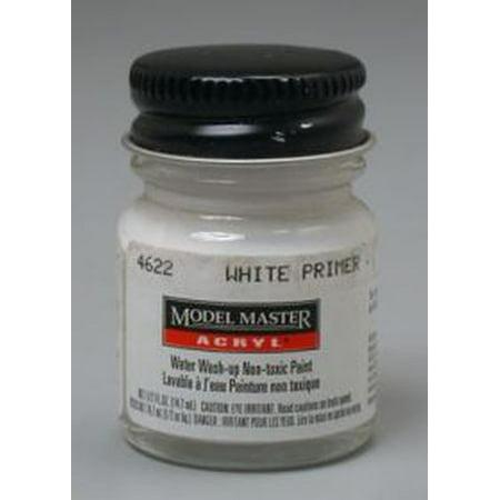 White primer testors acrylic plastic model paint for Craft smart acrylic paint walmart