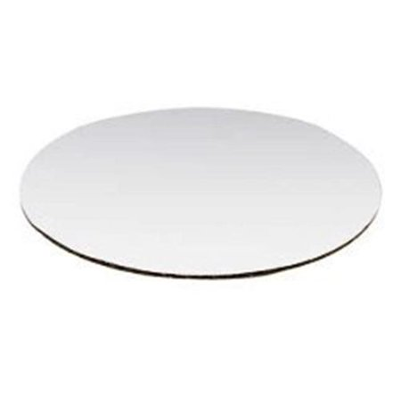 Vineland 12756 6 in. Corrugated Circle Top, White - Case of (Vineland Mall)