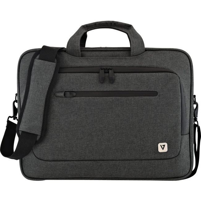 "V7 15.6"" Laptop Slim Case with Shoulder Strap"