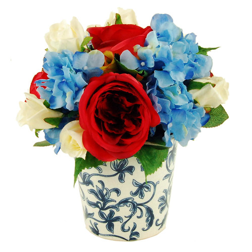 LCG Florals French Ceramic Pot Floral Arrangement