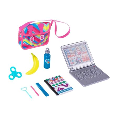 "Back to School Accessories Playset Any 18"" Doll, Perfect for play with any 18-inch doll including American Girl dolls or My Life As dolls (sold separately) By myLife Brand"
